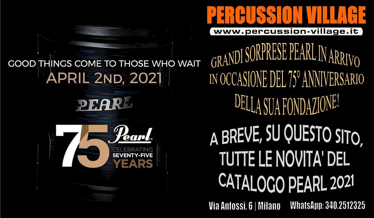 Pearl 75° Anniversario!